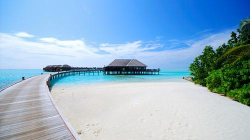 马尔代夫双鱼岛olhuveli6日4晚自由行(4钻)·海航直飞 2沙2豪水